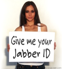 Give me your Jabber ID