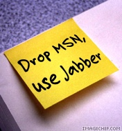 Drop MSN, use Jabber!
