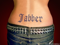 Jabber tattoo